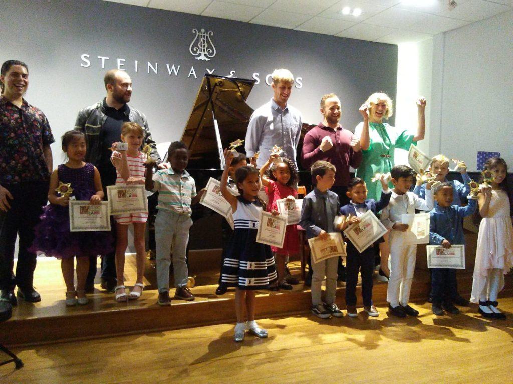Music students perform in recitals at Music Teacher LA